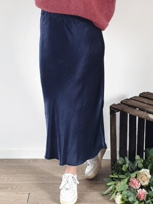 robe bleu velour
