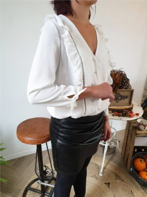 BLOUSE MACAO BLANC
