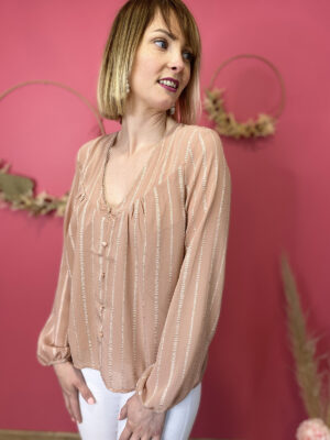 LAURA - BLOUSE DOS OUVERT