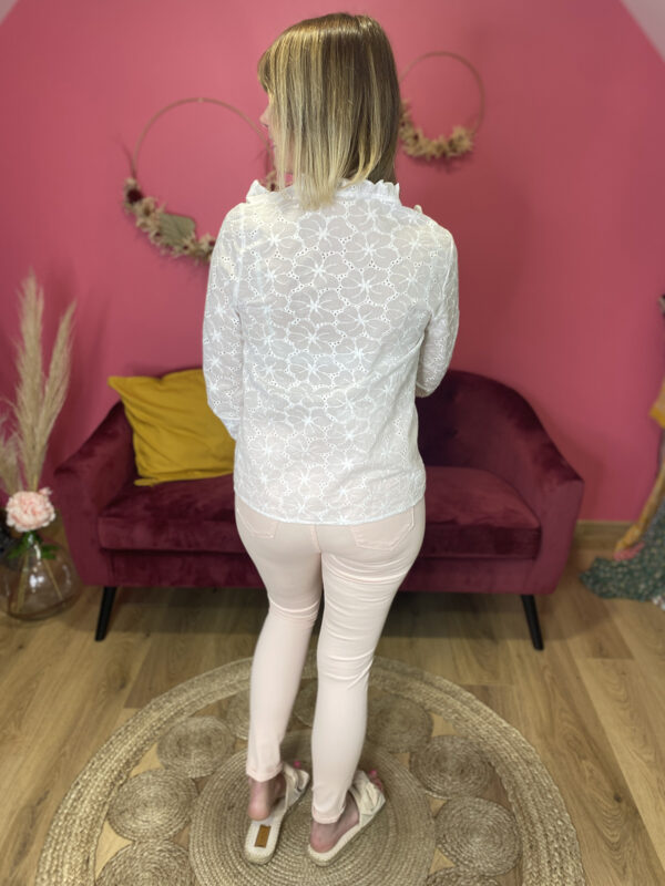 ELY - CHEMISIER BRODERIE ANGLAISE