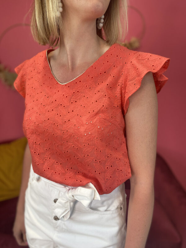 ISABELLE – BLOUSE BRODERIE ANGLAISE