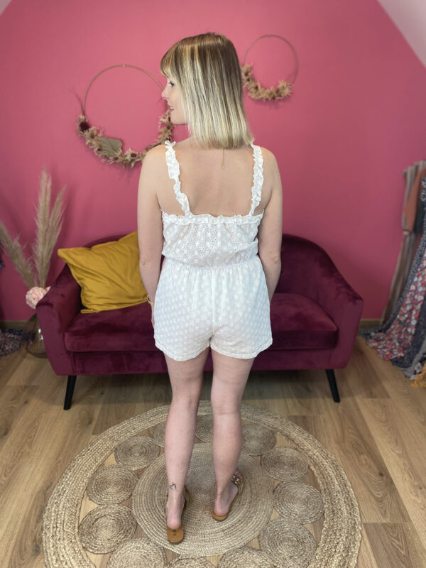 GWLADYS - COMBISHORT BRODERIE ANGLAISE